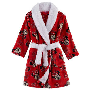 Carters 2T Minnie Mouse Bath Robe Toddler Girl